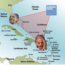The Bermuda Triangle of Corruption: Eric Holder, Barack Obama and Goldman Sachs