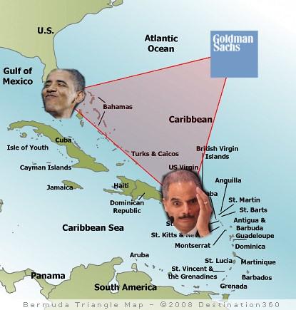 bermuda-triangle of corruption