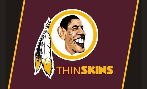 redskins mascot obama