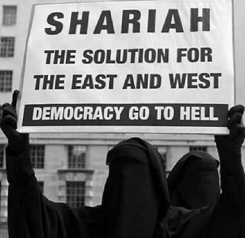 Islam Protest Woman