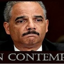 Obama stooge refuses to hold Obama stooge in contempt