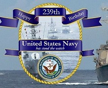 Happy Birthday US Navy (Guest Post)
