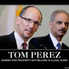 Meet Tom Perez : The goal of immigration is to marginalize whites