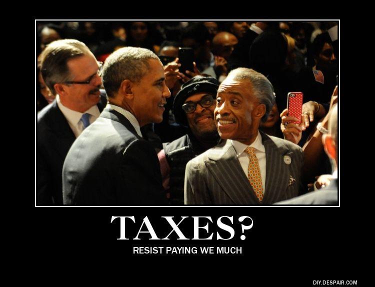 sharpton taxes
