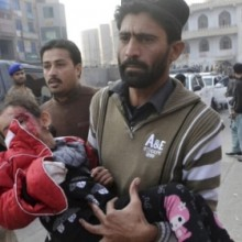 Obama's allies the Taliban slaughter more than 130 at a school in Pakistan