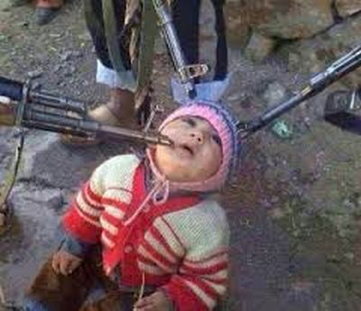 child terrorized