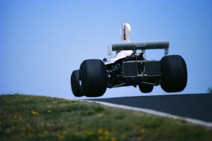 Formula One Racecar Goes Airborn During the German Grand Prix