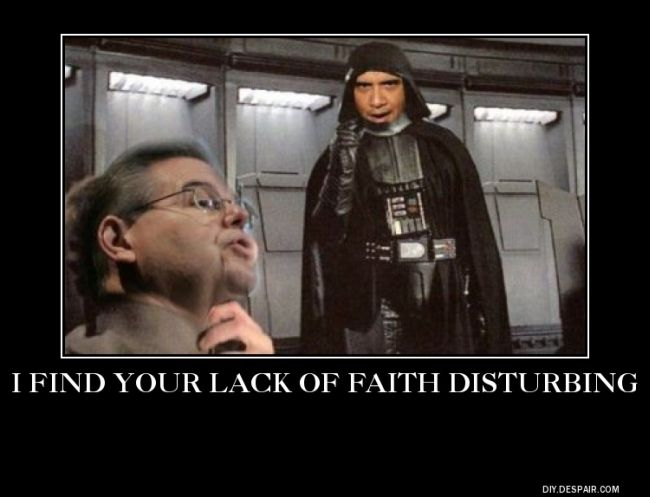 your lack of faith
