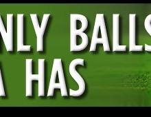 Wanted: a set of balls. Contact BarackObama@whitehouse.gov