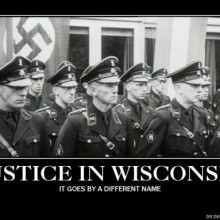 The Schutzstaffel lives on. It's known as the Wisconsin Democrat Party