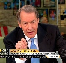 Charlie Rose becomes Hillary's campaign spokesman and Chris Wallace screws up
