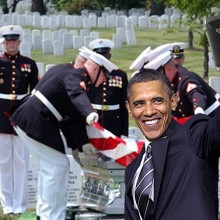 Did President Obama Just Deliver a Political Memorial Day Speech?