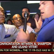 Mayor Stephanie hides behind race hustler Sharpton