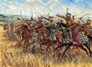 The Mameluke Cavalry Charge was Undefeated until they they met Napoleon's infantry rectangles with 6 rows of riflemen firing in sequence