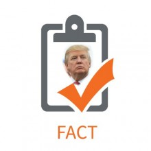 Fact checking Trump- updated