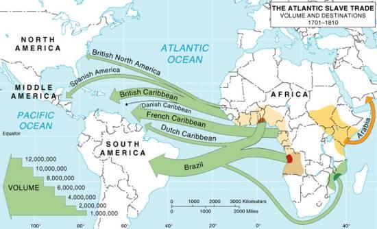 west africa slave trade
