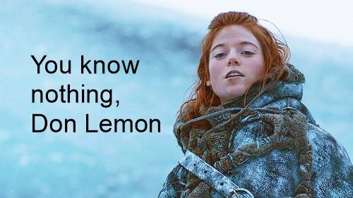 you know nothing don lemon
