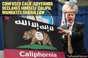 Caliphornia_Governor_Brown_Sharia