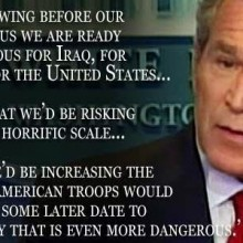 Bush blame for Isis?  Or Obama Credit?