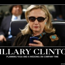 In four years, Hillary Clinton never received, sent or discussed classified information via email?