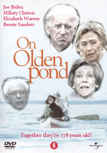 The great democrat Presidential primary debate: On Olden Pond