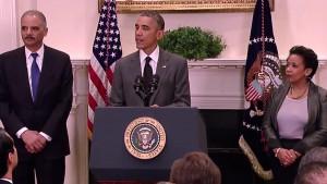 Obama, Holder & Lynch