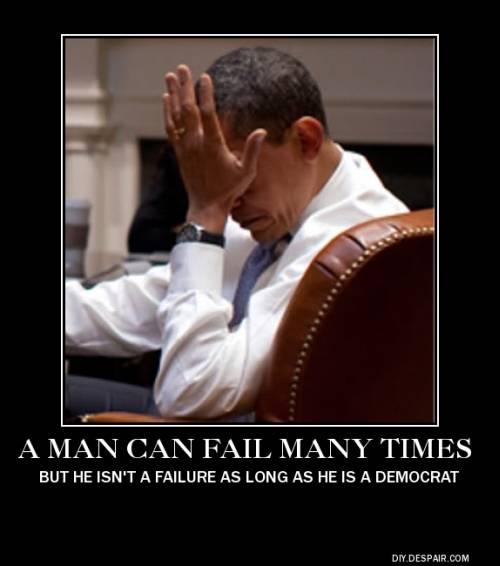 a man can fail many times