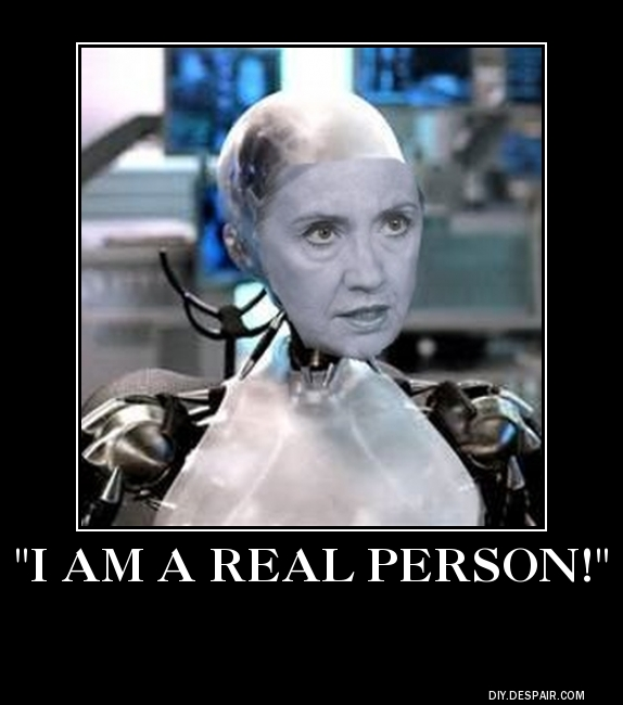 hillary i am a real person