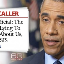 Obama is cooking the intelligence about ISIS- and why
