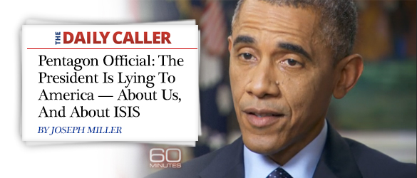 obama lie about isis