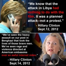The Benghazi hearings are political? So was the lie!