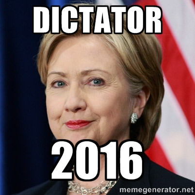 hillary dictator