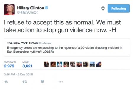 clinton tweet
