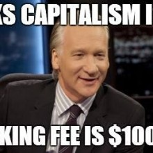 Bill Maher unwittingly proves liberals are hypocritical morons