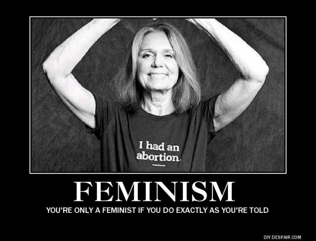 hypocrisy of feminism