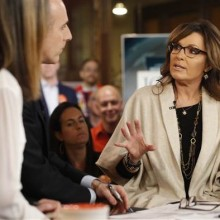 The Today Show ambushes Sarah Palin
