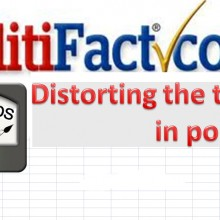 Concrete proof that Politifact and Factcheck.org are biased liars