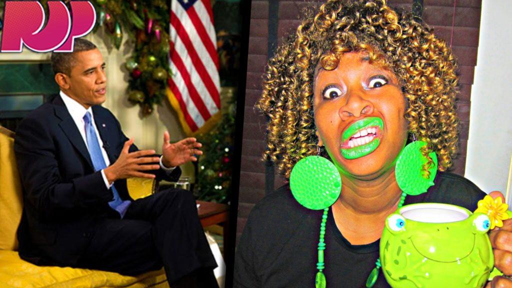 obama and glozell