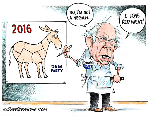 Bernie-and-red-meat