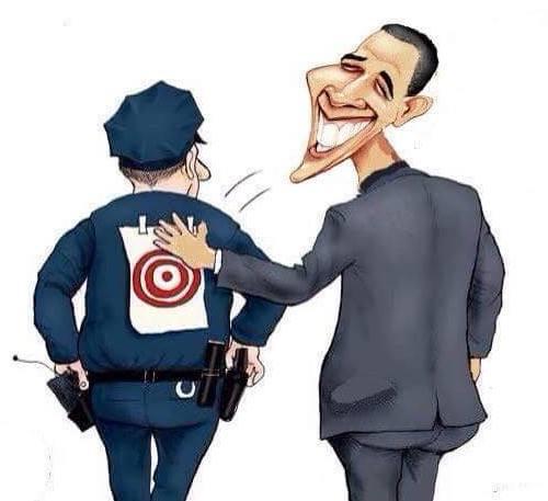 cop target on back