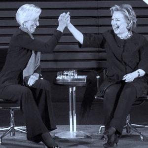 Lagarde & Clinton