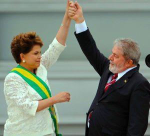 Dilma Rousseff & Luiz Lula da Silva
