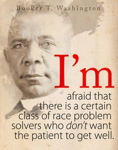 What did booker t washington do for civil rights
