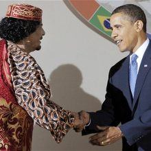 Wait, what did you say, obama? You took out Gaddafi to prevent a genocide?