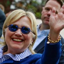 Hillary's new sunglasses? Yes, they are used for suppressing seizures, but there might be more to it- UPDATED