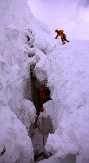 Glacier-Crevice