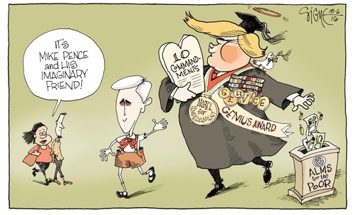 Signe cartoon G1TOON06e Pence