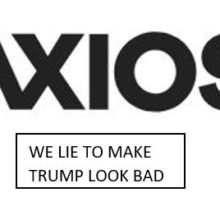Axios flat out lies. Classic example of #fakenews