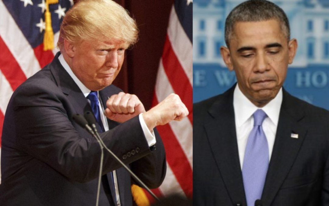 A tale of two Presidents: obama grew ISIS, Trump is wiping it out