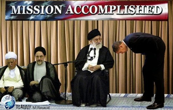 obama sold us out for thirty pieces of Iranian silver